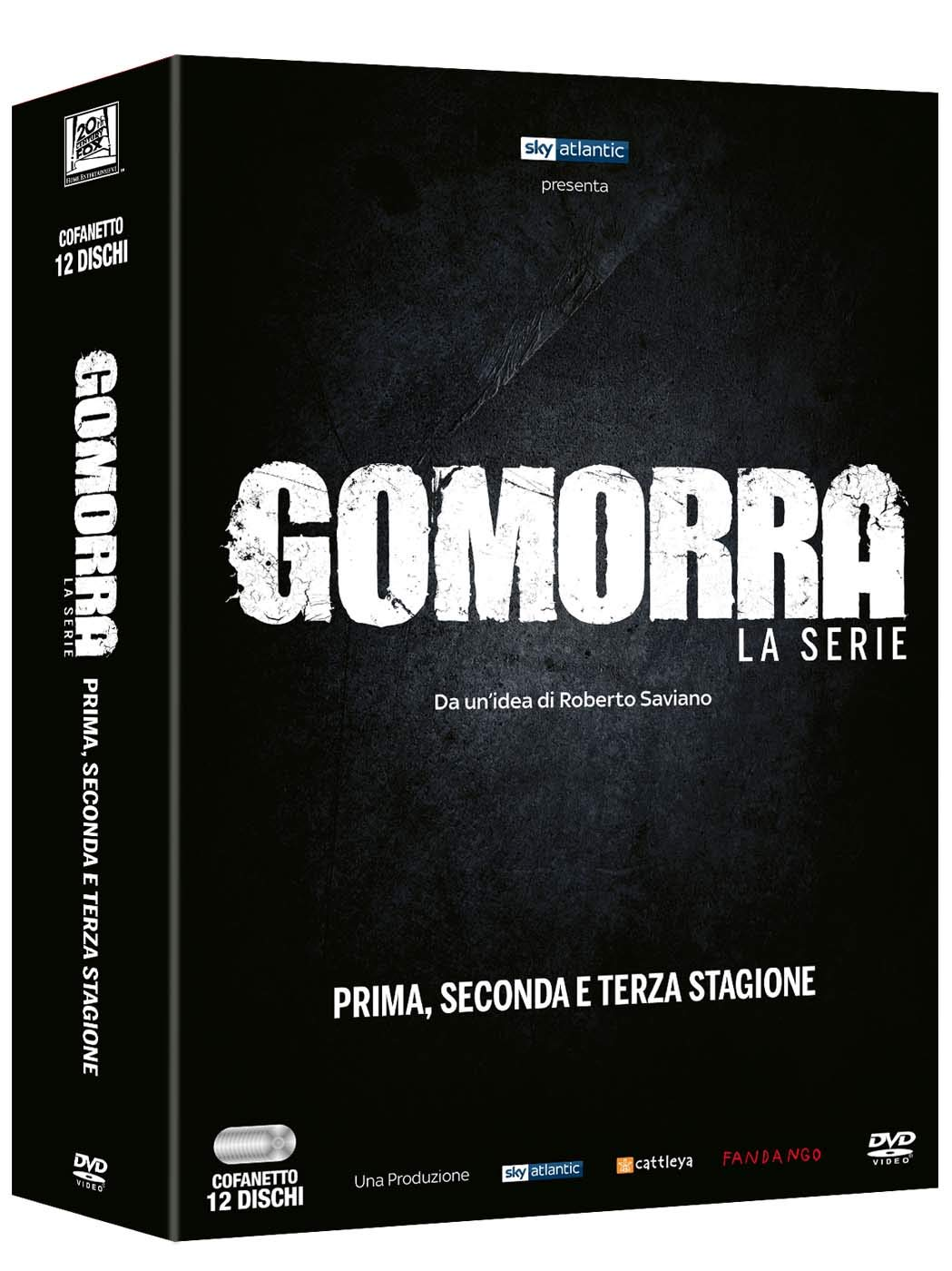 COF.GOMORRA - STAGIONE 01-03 (12 DVD) (DVD)