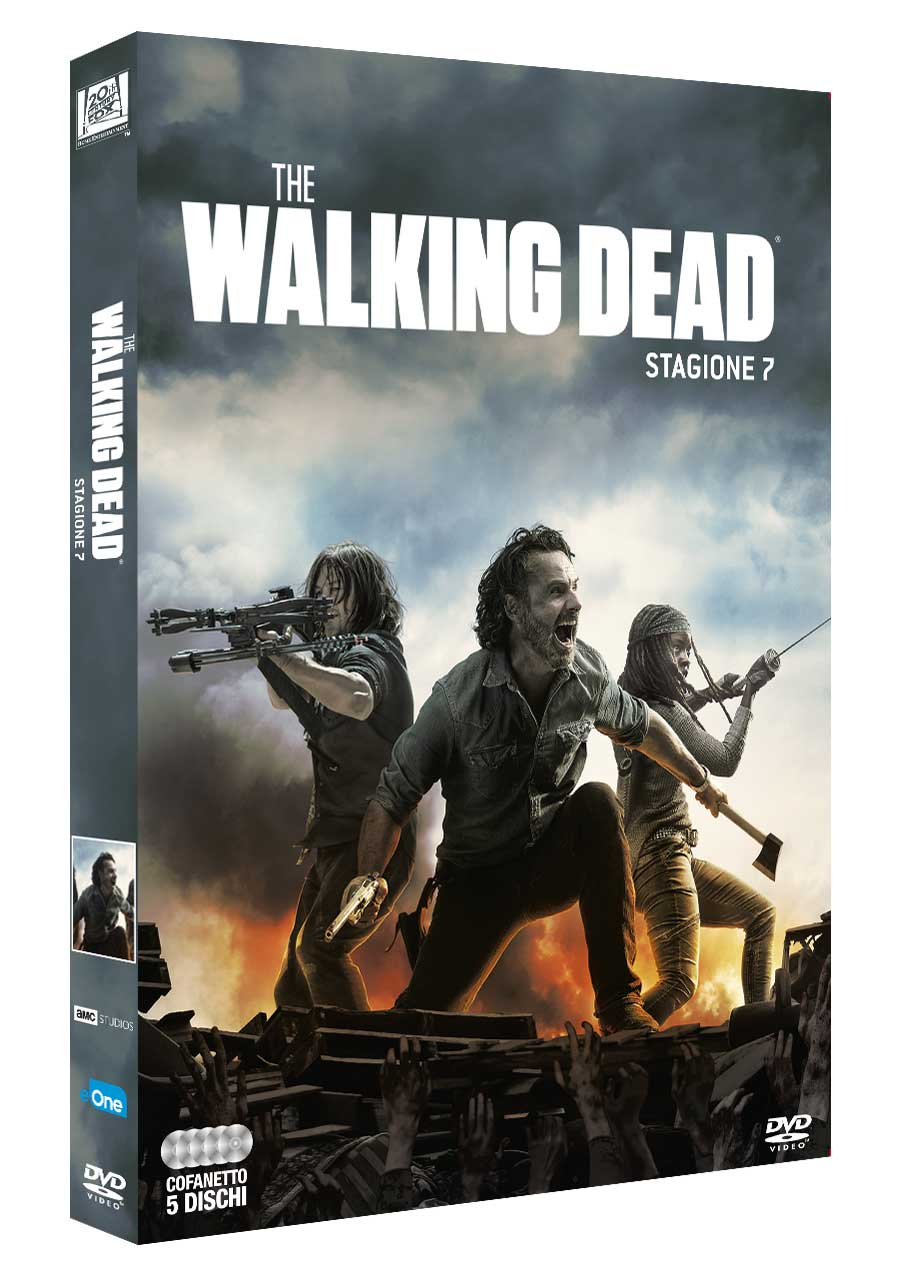 COF.THE WALKING DEAD - STAGIONE 08 (5 DVD) (DVD)