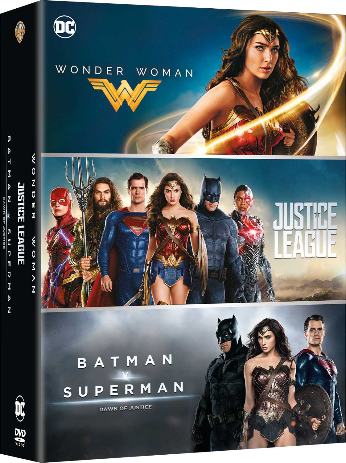 COF.DC COMICS BOX SET (3 DVD) (DVD)