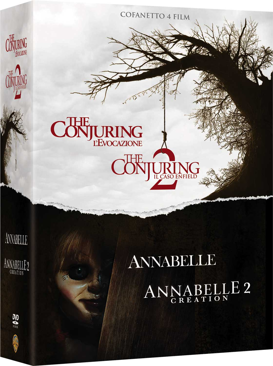 COF.CONJURING COLLECTION (4 DVD) (DVD)
