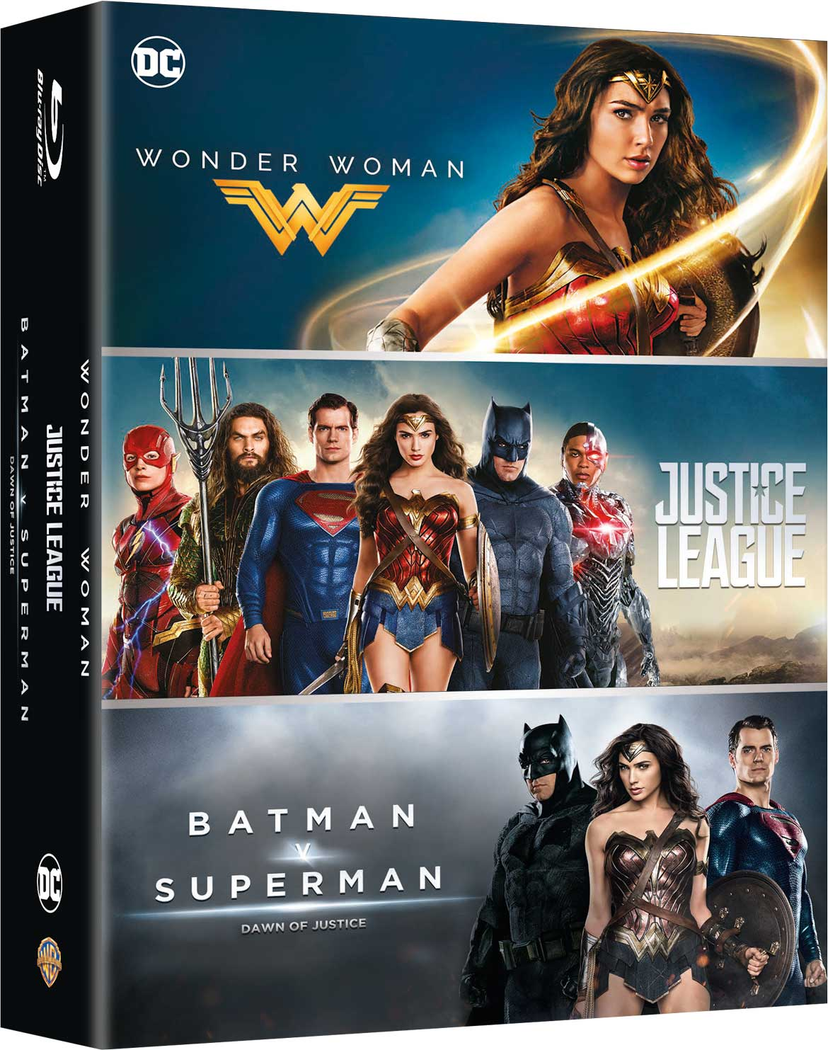 COF.DC COMICS BOX SET (3 BLU-RAY)