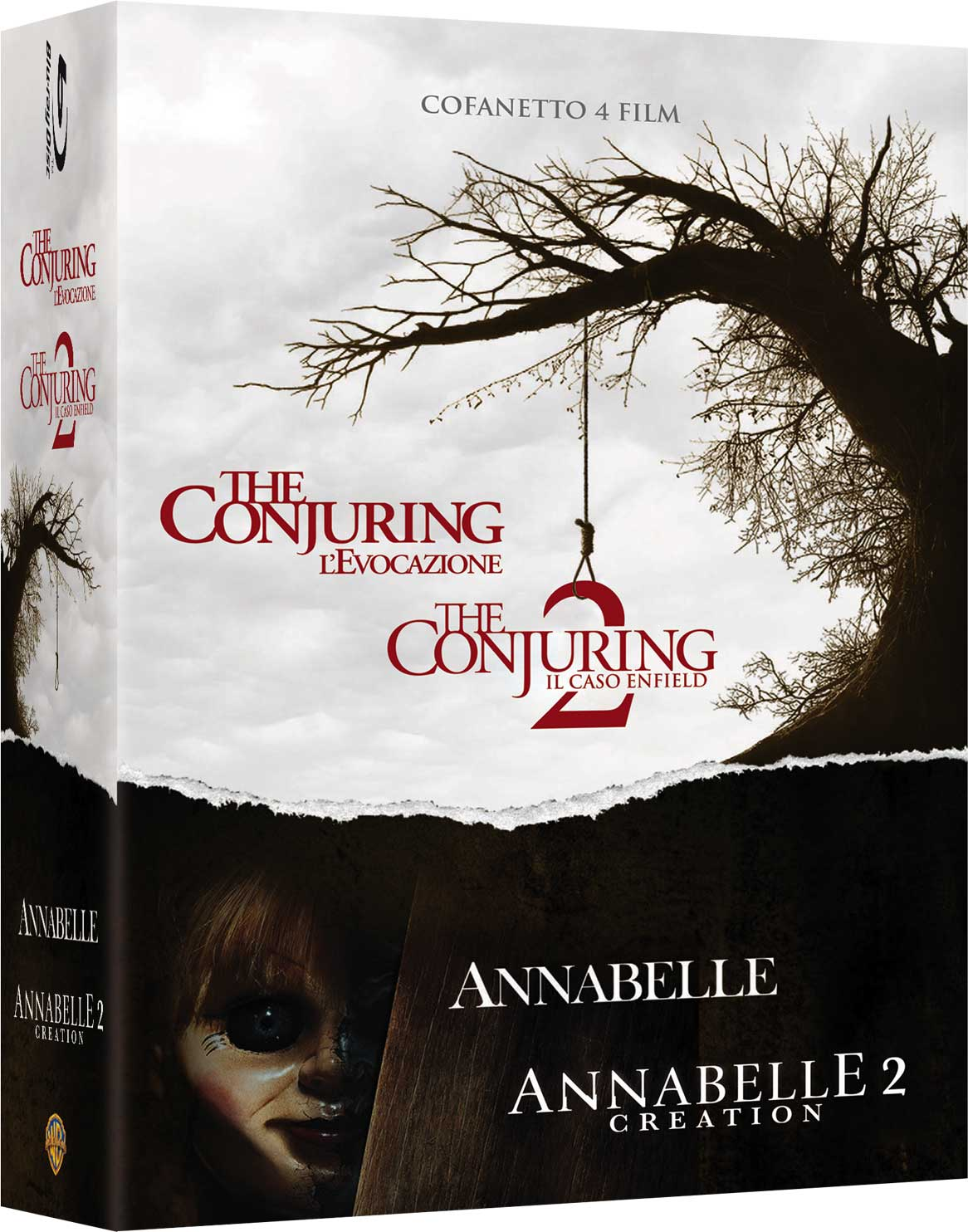 COF.CONJURING COLLECTION (4 BLU-RAY)