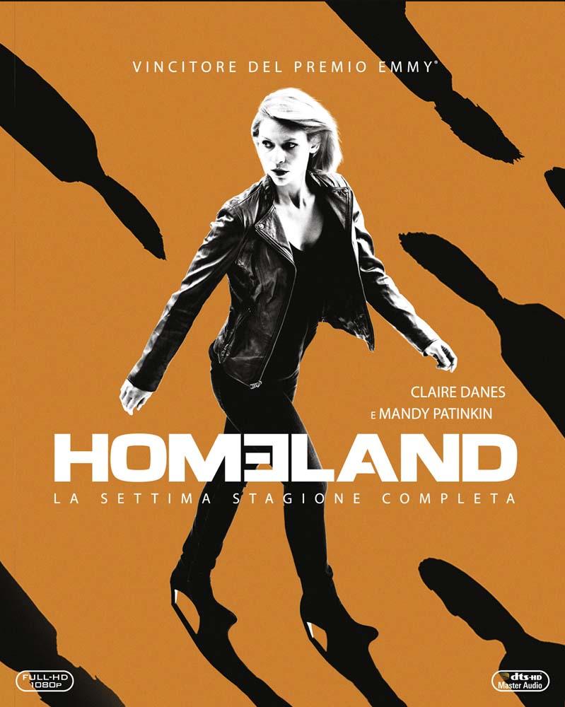 COF.HOMELAND - STAGIONE 07 (3 BLU-RAY)