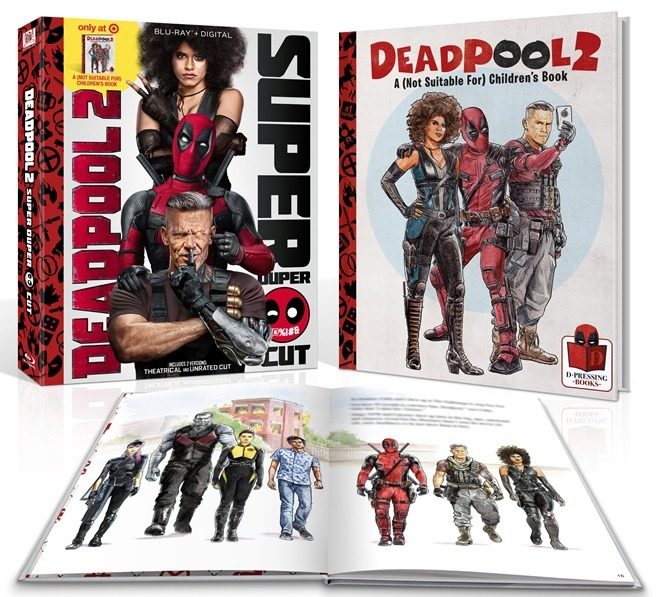DEADPOOL 2 - BOOKLET EDITION (BLU-RAY+BOOKLET)
