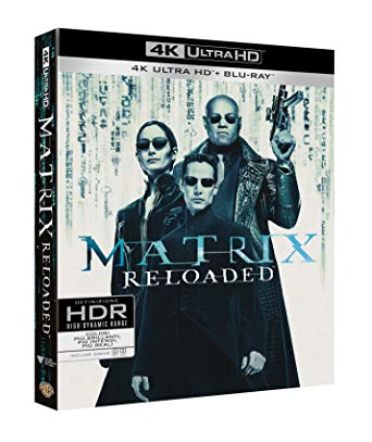 MATRIX RELOADED (BLU-RAY 4K ULTRA HD+BLU-RAY)