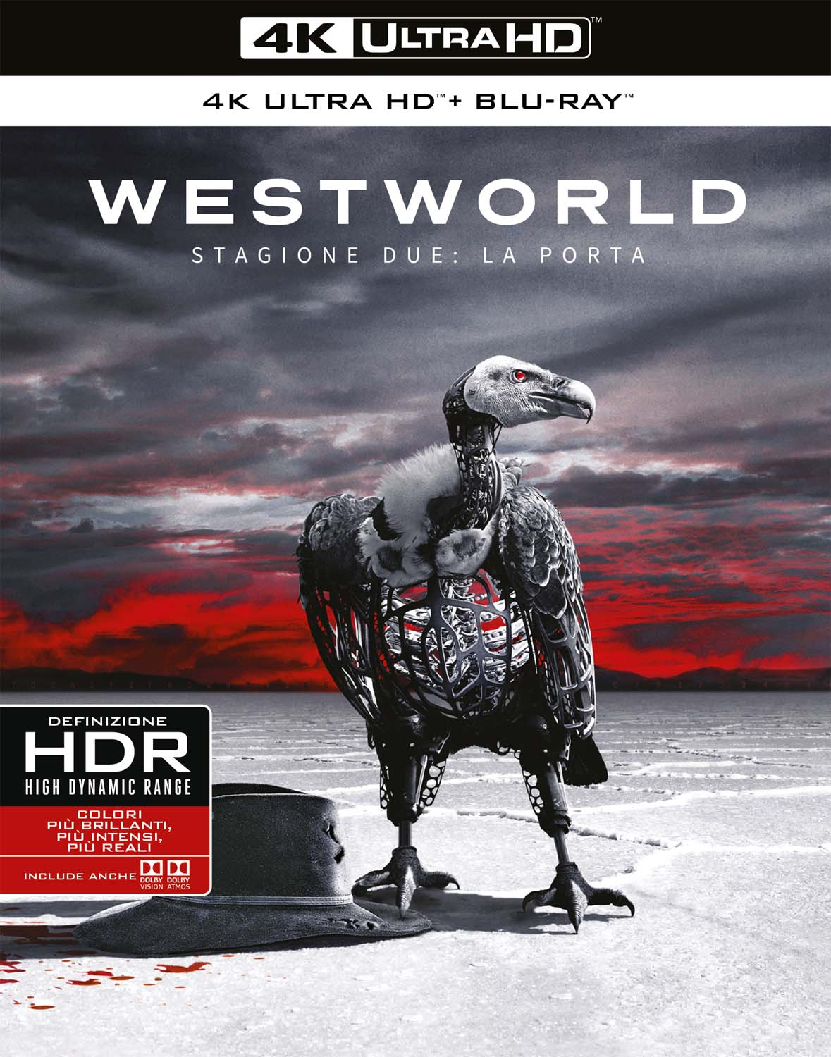 COF.WESTWORLD - STAGIONE 02 (3 4K ULTRA HD+3 BLU-RAY)