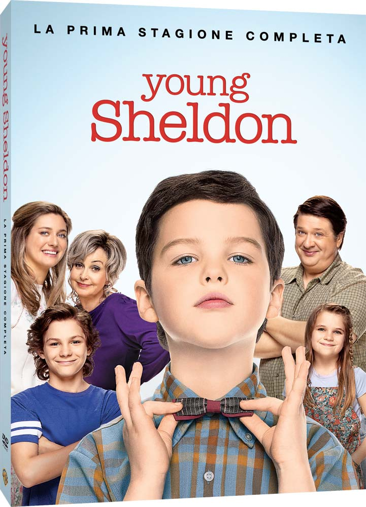 COF.YOUNG SHELDON - STAGIONE 01 (2 DVD) (DVD)