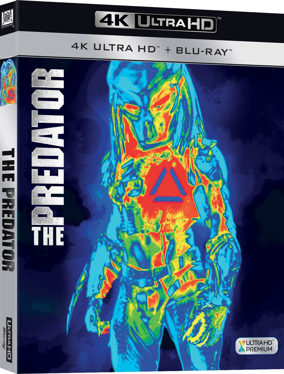 THE PREDATOR (2018) (4K ULTRA HD+BLU-RAY)