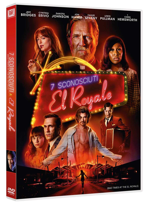 7 SCONOSCIUTI A EL ROYALE (DVD)