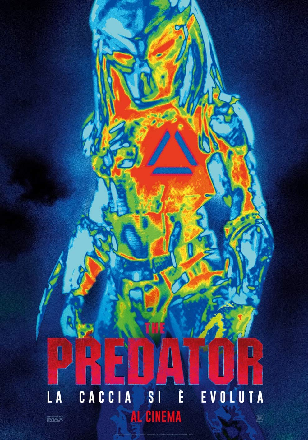 THE PREDATOR (2018) (STEELBOOK) - BLU RAY