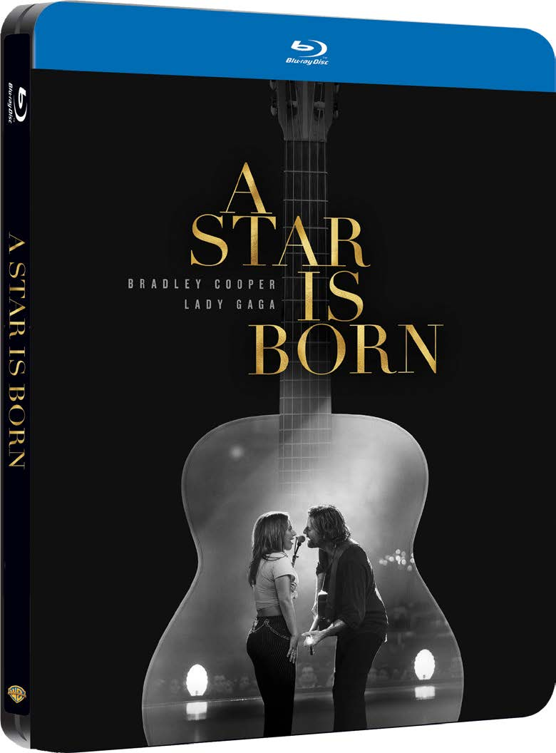 A STAR IS BORN (STEELBOOK) - BLU RAY