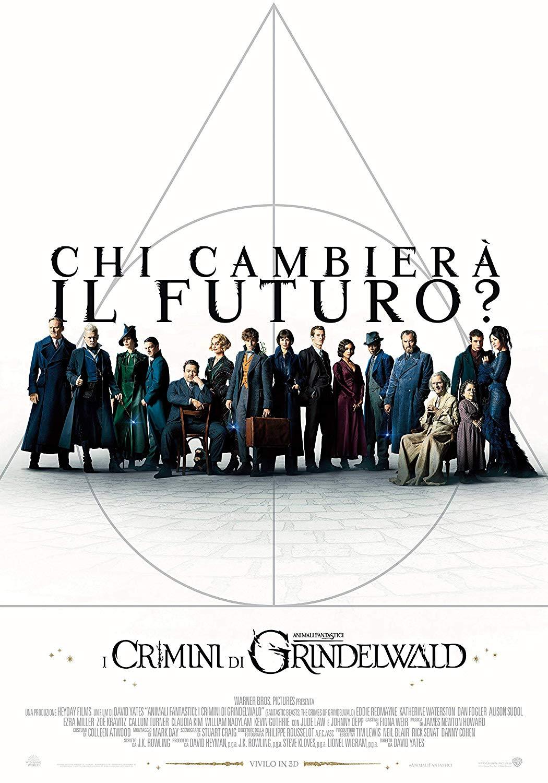 ANIMALI FANTASTICI - I CRIMINI DI GRINDELWALD (LTD STEELBOOK) -