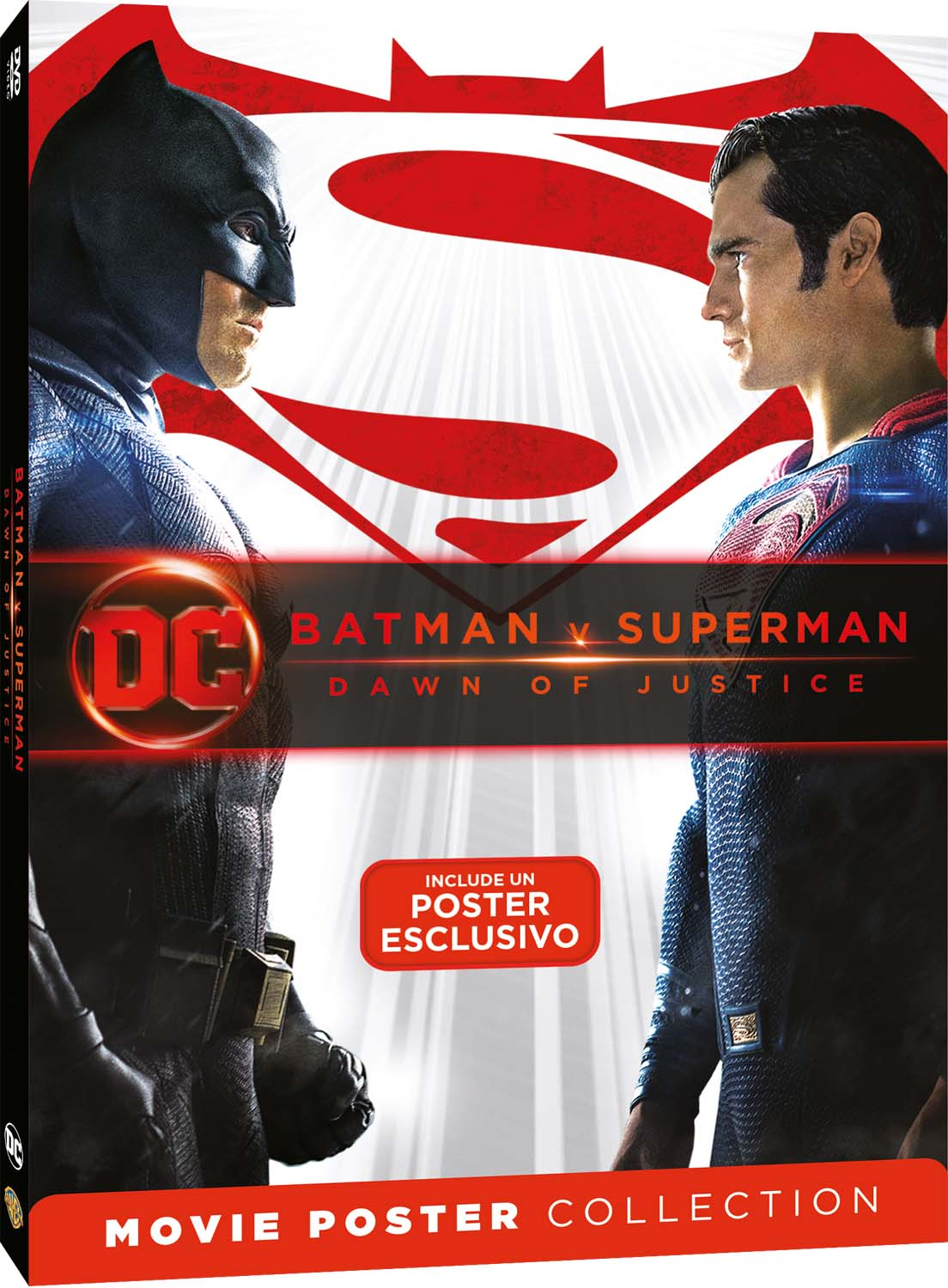 BATMAN V SUPERMAN - DAWN OF JUSTICE - MOVIE POSTER EDITION (DVD)