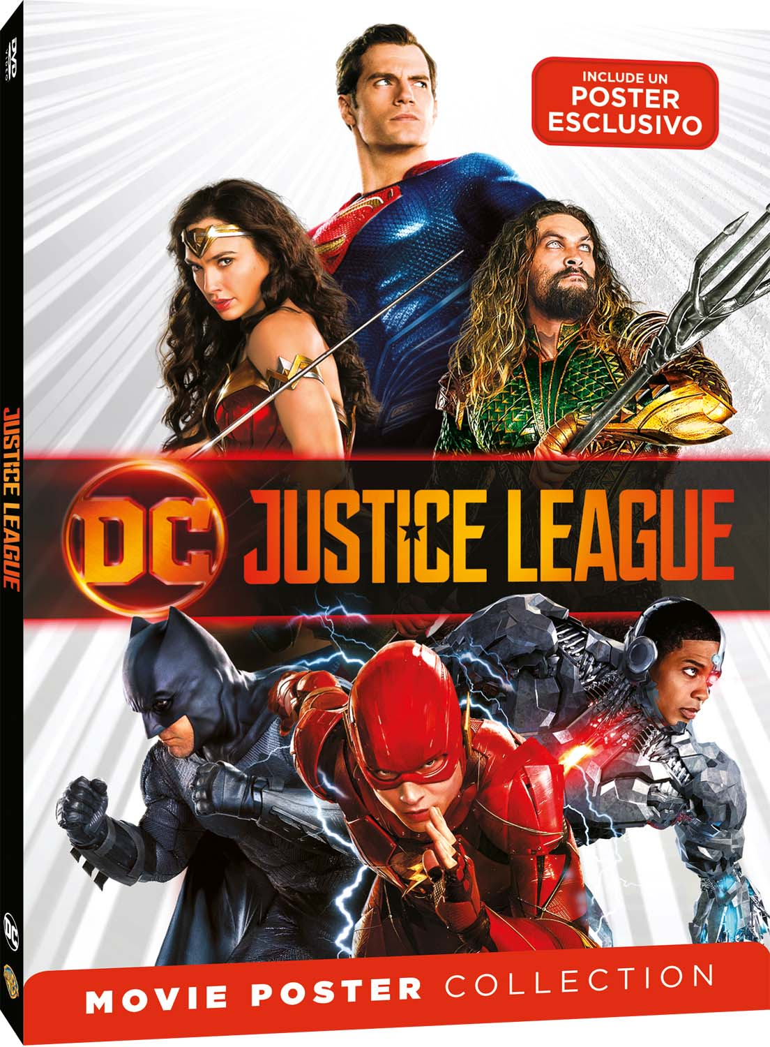 JUSTICE LEAGUE - MOVIE POSTER EDITION (DVD)