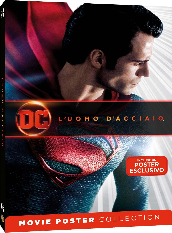 L'UOMO D'ACCIAIO - MOVIE POSTER EDITION (DVD)