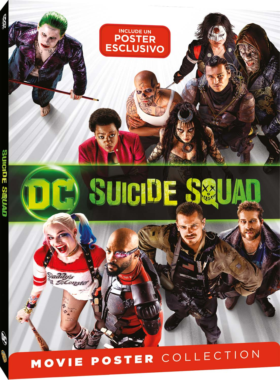 SUICIDE SQUAD - MOVIE POSTER EDITION (DVD)
