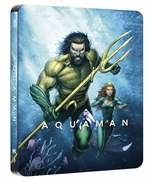 AQUAMAN (BLU-RAY DISC - STEELBOOK)