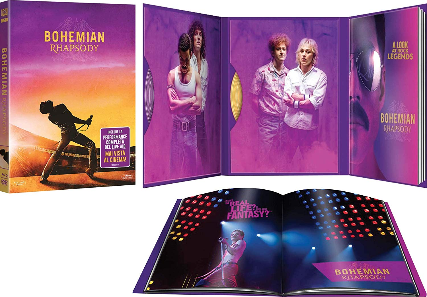 BOHEMIAN RHAPSODY (LTD) (DIGIBOOK) (BLU-RAY+DVD)