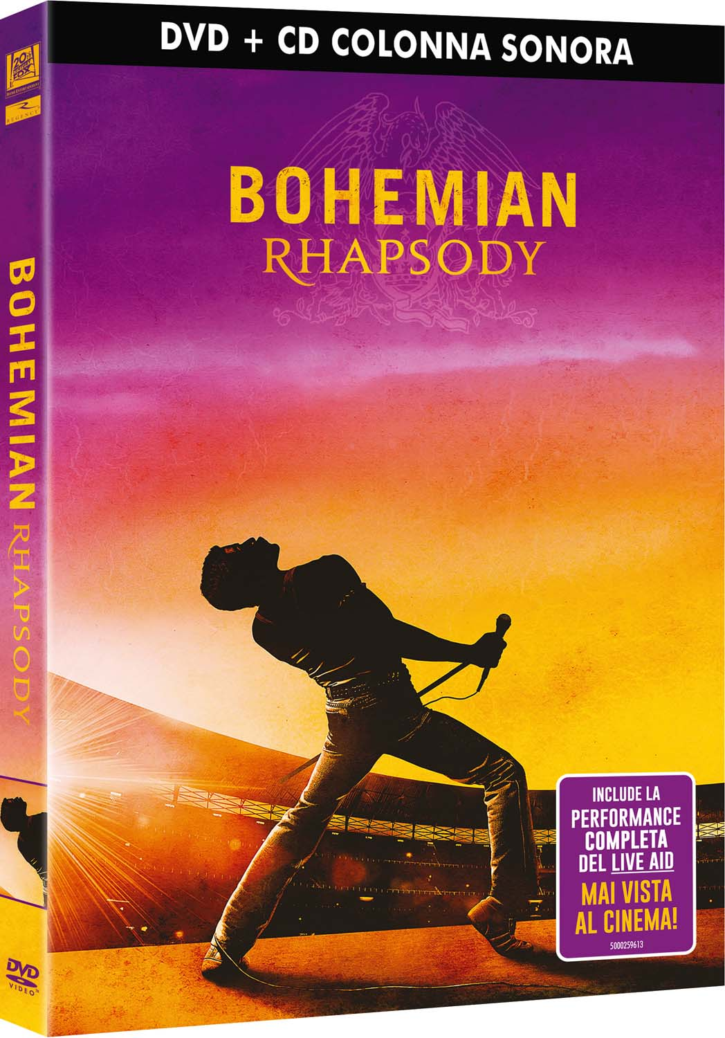 COF.BOHEMIAN RHAPSODY (LTD) (DVD+CD) (DVD)
