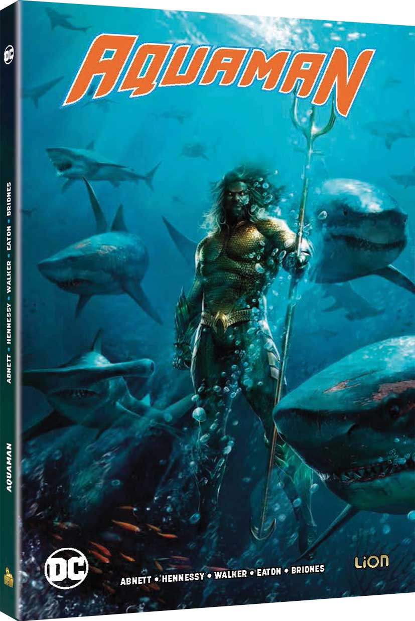 AQUAMAN (BLU-RAY+COMIC BOOK)