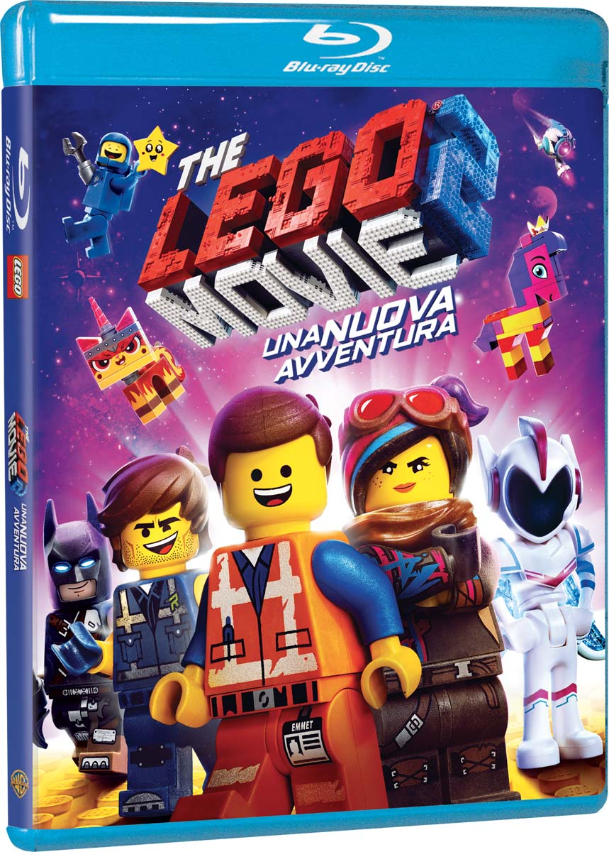 LEGO MOVIE 2 - UNA NUOVA AVVENTURA - BLU RAY