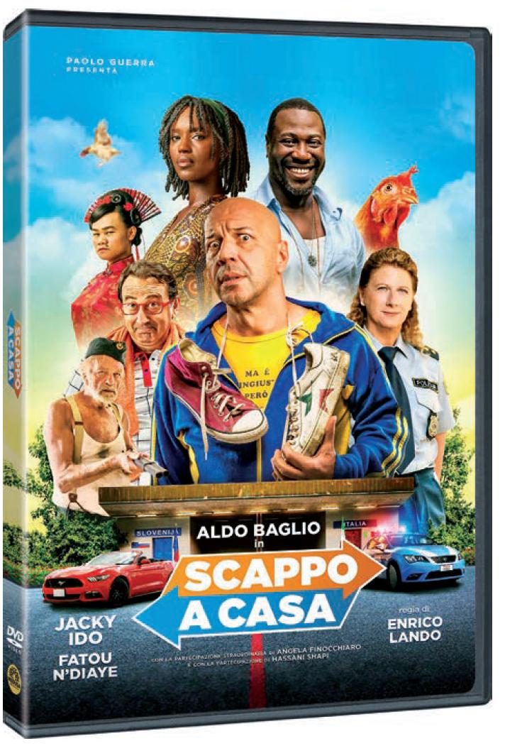 SCAPPO A CASA (DVD)