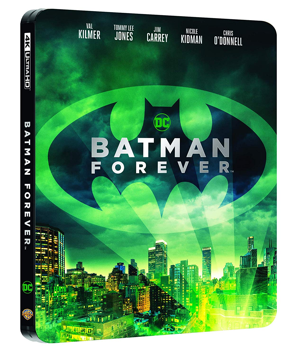 BATMAN FOREVER STEELBOOK (4K ULTRA HD+BLU-RAY)