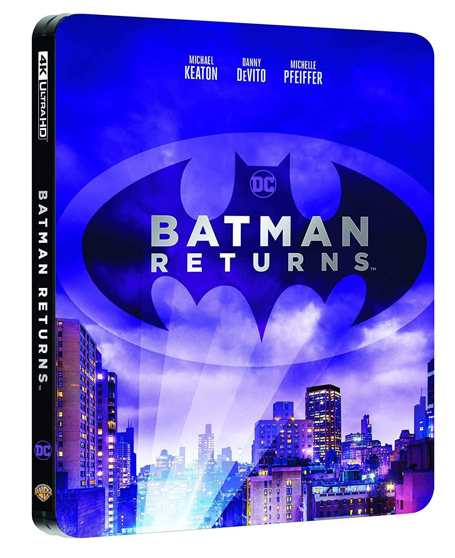 BATMAN IL RITORNO STEELBOOK (4K ULTRA HD+BLU-RAY)
