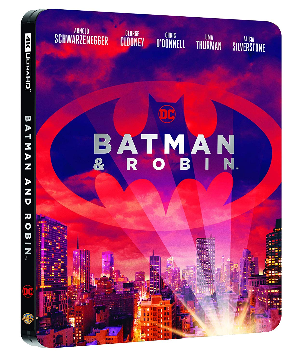 BATMAN & ROBIN STEELBOOK (4K ULTRA HD+BLU-RAY)