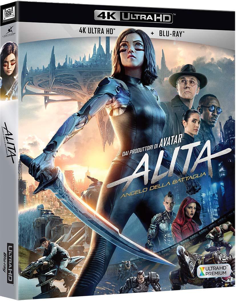 ALITA - ANGELO DELLA BATTAGLIA (4K ULTRA HD+BLU-RAY)