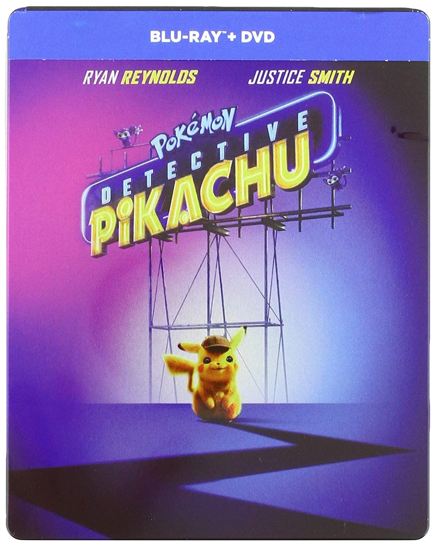 DETECTIVE PIKACHU (STEELBOOK) (BLU-RAY+DVD)