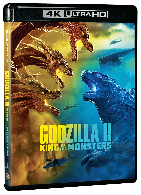 GODZILLA - KING OF THE MONSTERS (BLU-RAY 4K ULTRA HD+BLU-RAY)