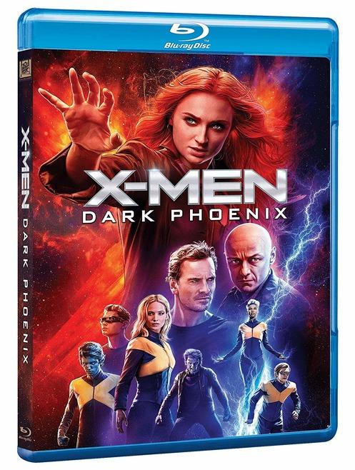X-MEN DARK PHOENIX - BLU RAY