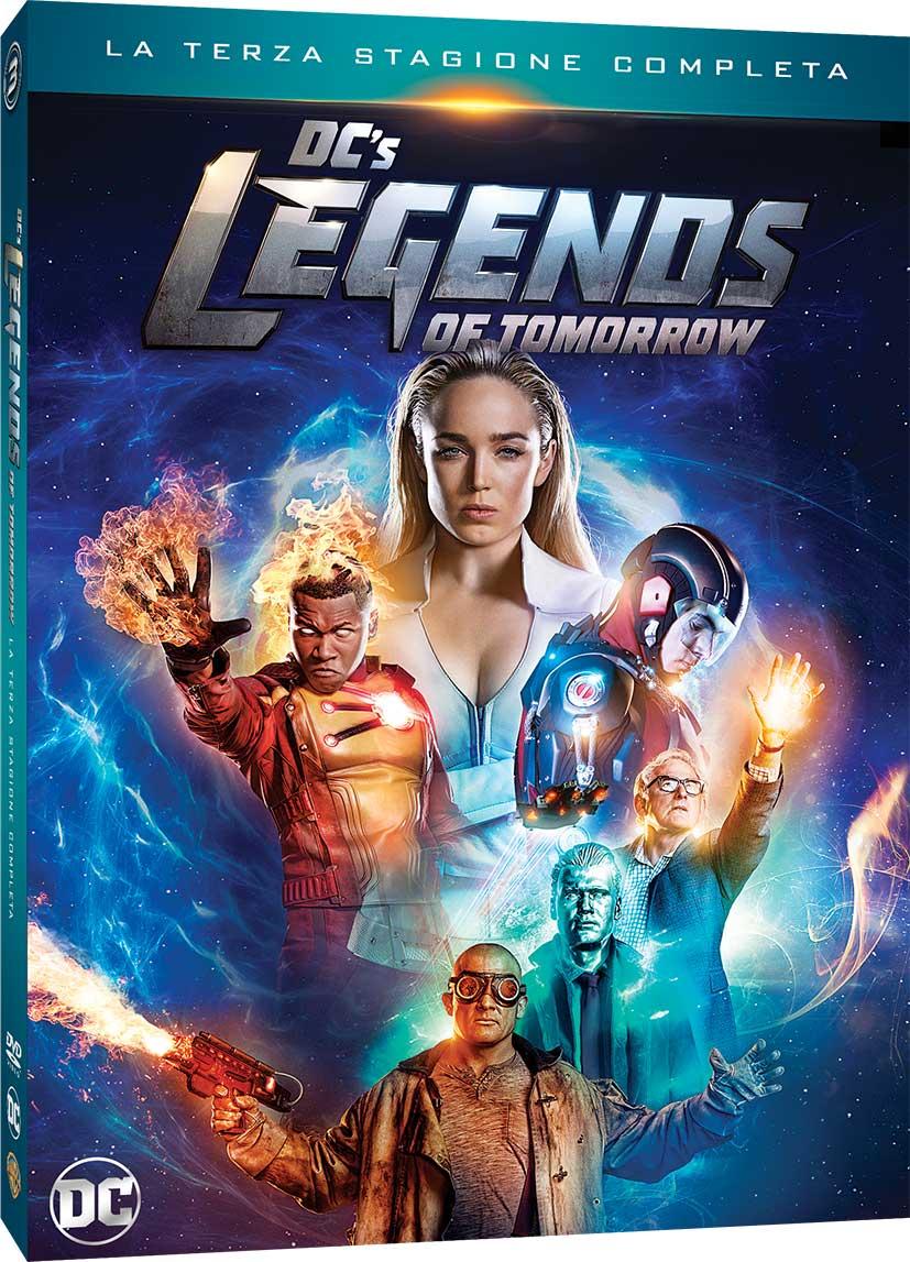 COF.DC'S LEGENDS OF TOMORROW - STAGIONE 03 (4 DVD) (DVD)