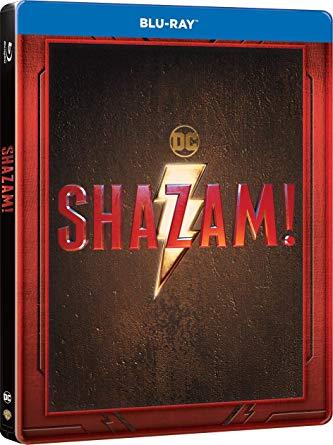 SHAZAM! STEELBOOK - BLU RAY