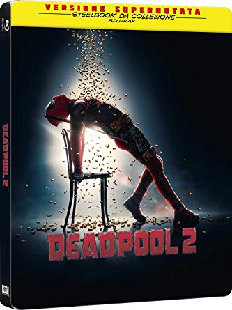 DEADPOOL 2 (STEELBOOK) - BLU RAY