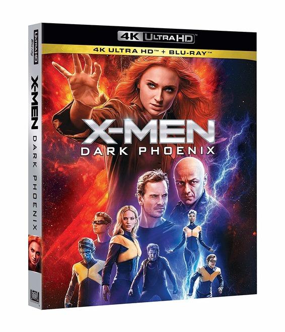 X-MEN DARK PHOENIX (4K ULTRA HD+BLU-RAY)