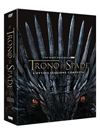 COF.IL TRONO DI SPADE - STAGIONE 08 (4 DVD) (DVD)