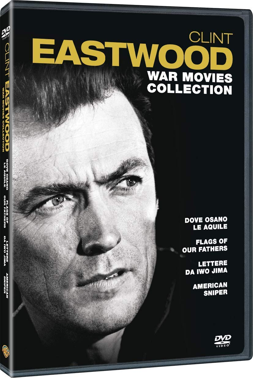 COF.CLINT EASTWOOD WAR MOVIES COLLECTION (4 DVD) (DVD)