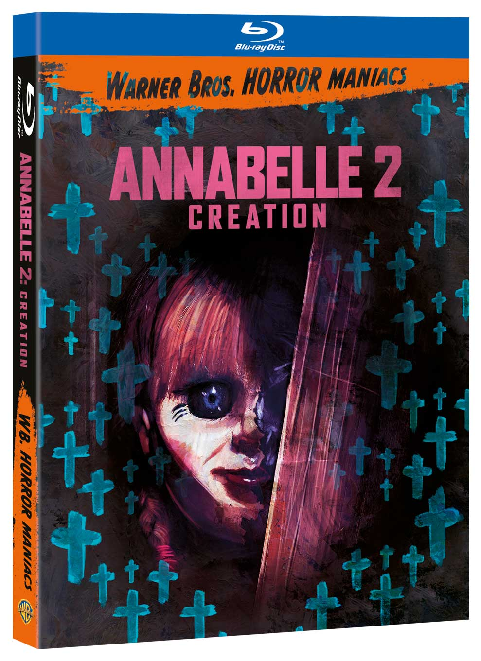 ANNABELLE 2: CREATION (EDIZIONE HORROR MANIACS) - BLU RAY
