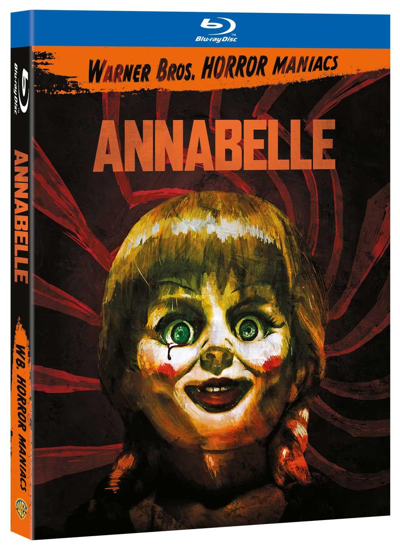 ANNABELLE (EDIZIONE HORROR MANIACS) - BLU RAY