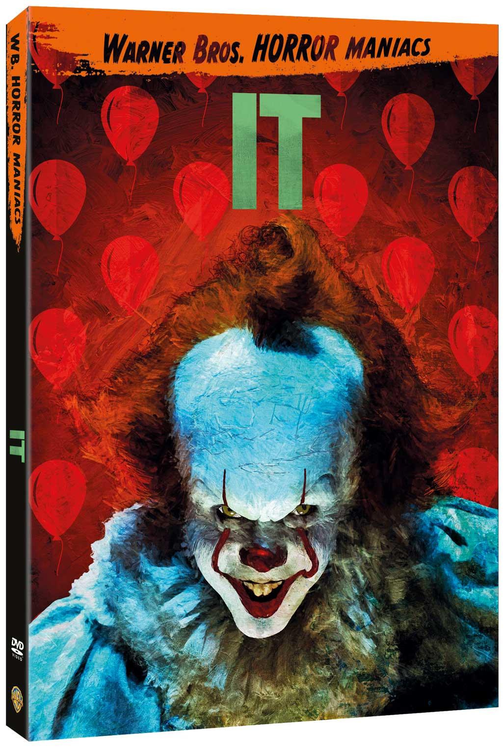 IT (2017) (EDIZIONE HORROR MANIACS) (DVD)