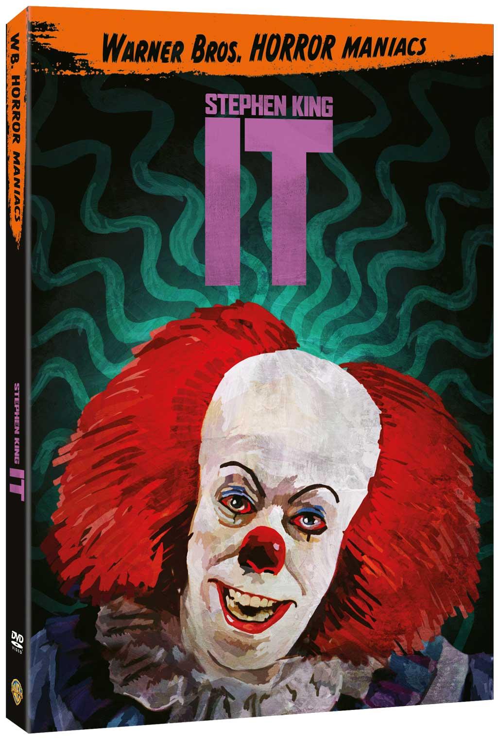 IT (EDIZIONE HORROR MANIACS) (DVD)