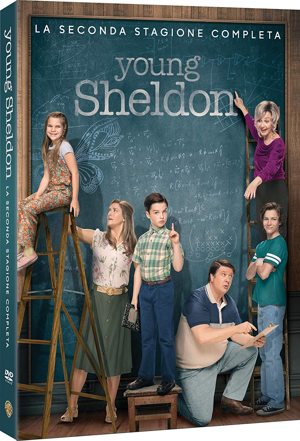 COF.YOUNG SHELDON - STAGIONE 02 (2 DVD) (DVD)