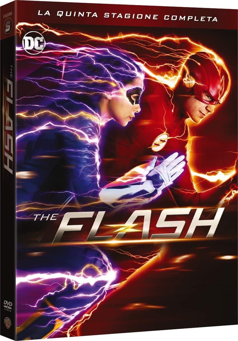 COF.THE FLASH - STAGIONE 05 (5 DVD) (DVD)
