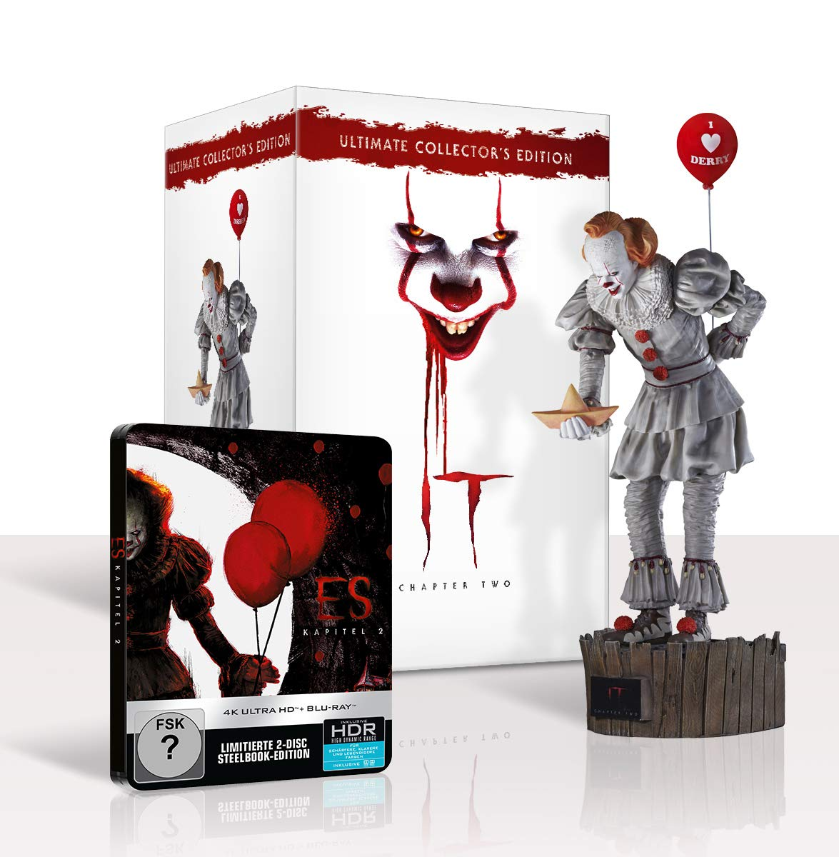 COF.IT CAPITOLO 2 (4K ULTRA HD + BLU-RAY) + STATUA PENNYWISE (3