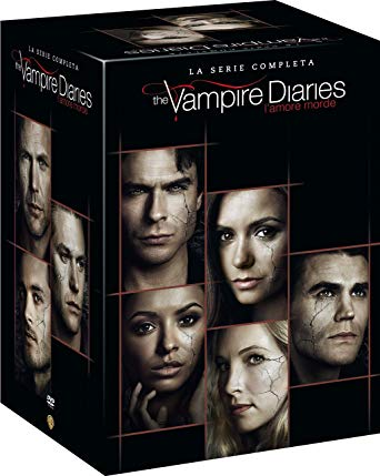COF.THE VAMPIRE DIARIES - SERIE COMPLETA (38 DVD) (DVD)