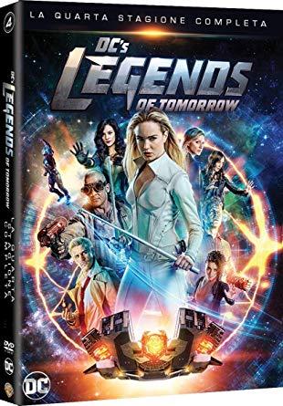 COF.DC'S LEGENDS OF TOMORROW - STAGIONE 04 (3 DVD) (DVD)