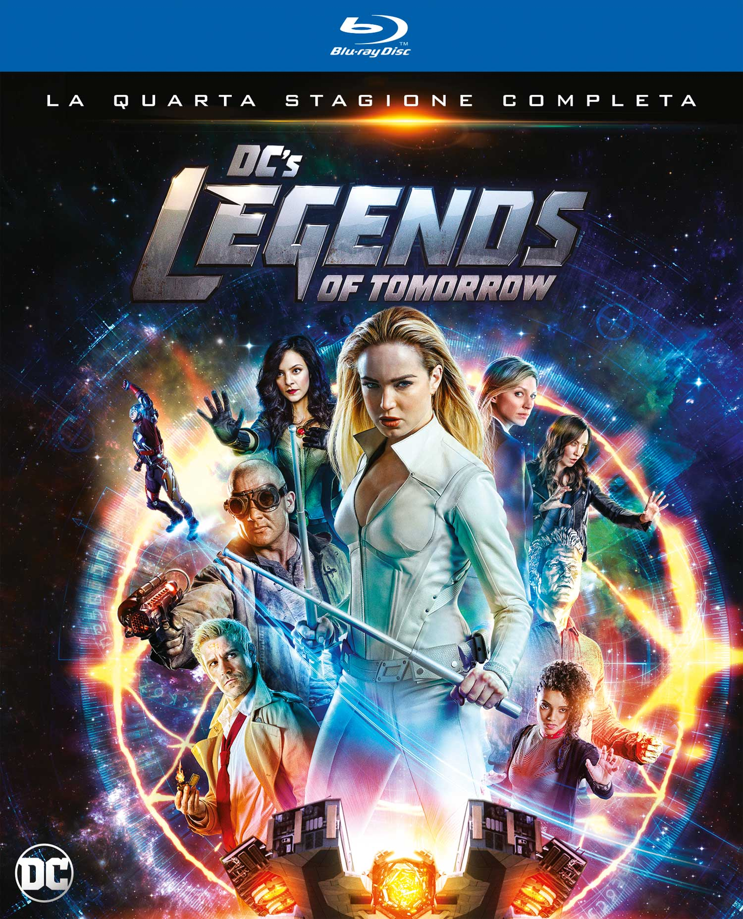 COF.DC'S LEGENDS OF TOMORROW - STAGIONE 04 (2 BLU-RAY)