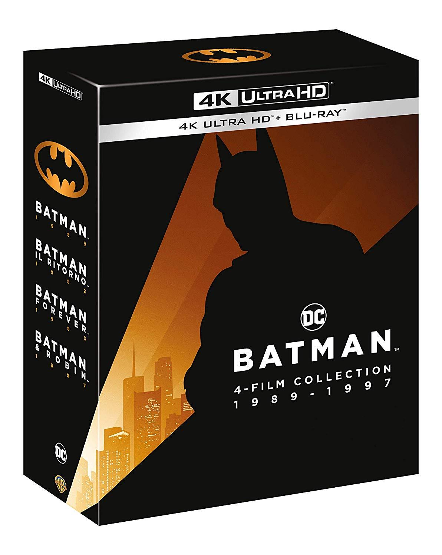 COF.BATMAN ANTHOLOGY 4 FILM COLLECTION (4K ULTRA HD + BLU-RAY)